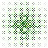 Green abstract square pattern background Stock Photos