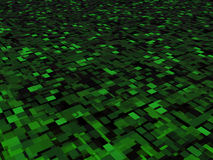 Green Abstract Squares Background Illustration Stock Photos