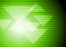 Green abstract technical background Stock Photos