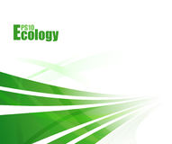 Green abstract technology background Royalty Free Stock Image