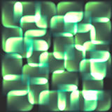 Green abstract technology design. Eps 10 vector background Stock Photos