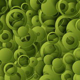 Green 3d paper vector pattern abstract background Stock Photography