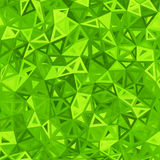 Green abstract triangles vector background Royalty Free Stock Photo