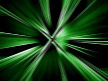 Green abstract twirls Stock Images