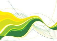 Green abstract vector royalty free illustration