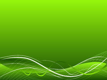 Green abstract vector background Stock Image