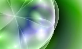 Green abstract vector background Royalty Free Stock Photo
