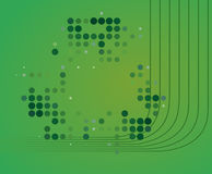 Green Abstract Wallpaper Stock Photo