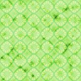 Green decorative watercolored background pattern. Green abstract watercolor background. Seamless pattern good for web pages or as wallpaper royalty free illustration