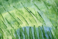 Green abstract watercolor background royalty free illustration