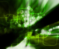 Green Abstract Zoom Texture Royalty Free Stock Photos