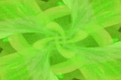 Green abstraction. The image of a green florid pattern Stock Photography
