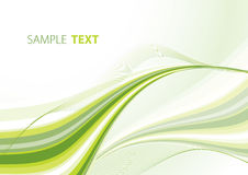 Green abstraction Royalty Free Stock Image