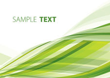 Green abstraction Royalty Free Stock Photos