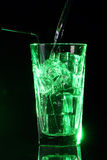 Green acid cocktail Royalty Free Stock Image