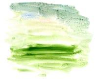 Green Acrylics Texture Stock Image