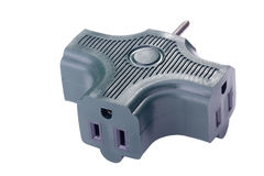Green Adapter Stock Image