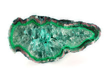 Green agate Stock Images