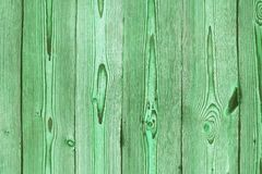 Green aged brushed wood texture Stock Images