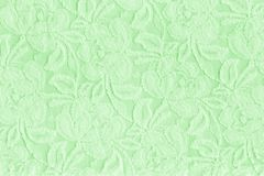 Green aged lace stock photo