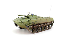 Green airborne combat vehicle Royalty Free Stock Images