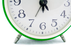 Green alarm clock Stock Photos