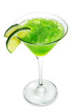 Green Alcoholic Cocktail Stock Images