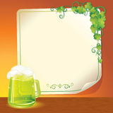 Green Ale royalty free stock photography