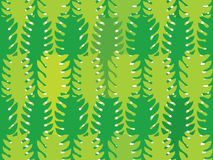 Green algae seamless pattern. Green water plants seamless pattern Stock Images