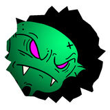 Green alien Royalty Free Stock Photos