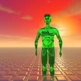 Green alien Royalty Free Stock Image