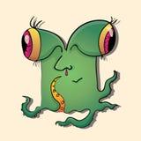 Aliens stock illustration