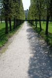 Green Alley Royalty Free Stock Photo