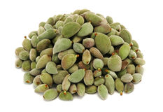 Green almond Stock Photos