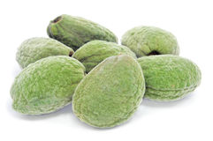 Green almonds Stock Photography