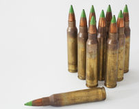 Green ammo Stock Photos