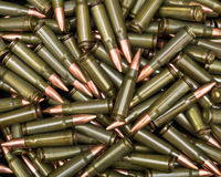 Green ammo Stock Photography