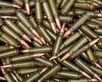 Green ammo Stock Photography