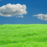 Green And Blue Stock Image
