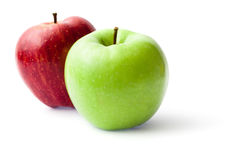 Free Green And Red Apples Stock Photo - 9016160