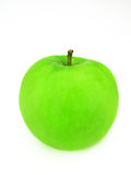 Green Apple. A single green apple against a white background for easy extraction Stock Photo