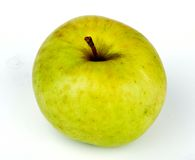 Green Apple. A green apple showing on the top Royalty Free Stock Photos