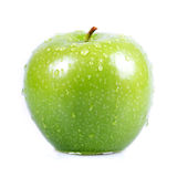 Green Apple. High quality studio shot isolated on white Stock Images