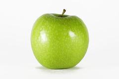 Green apple. Isolated on white background Royalty Free Stock Image
