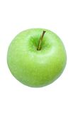 Green apple. Granny Smith. Top view stock photo