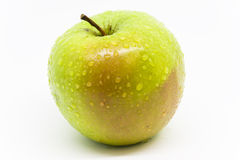 Green Apple. Apple is one of the most widely cultivated tree fruit and the most widely know and use by human royalty free stock image