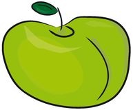 The green apple. Stock Images