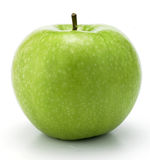 Green Apple. In  white background Royalty Free Stock Images