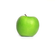 Green Apple. Isolated on white background Stock Photos