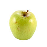 Green apple. Golden delicious green apple cut in square Royalty Free Stock Image